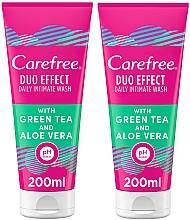 Parfums et Produits cosmétiques Coffret cadeau - Carefree Aloe Vera Intimate Gel (2xgel/200ml)