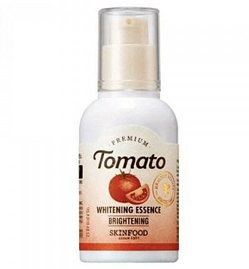 Essence à l'extrait de tomate pour visage - Skinfood Premium Tomato Whitening Essence