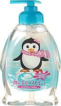 Parfums et Produits cosmétiques Gel bain et douche à l'arôme de mousse de sucre pour enfants, Pingouin joyeux - Chlapu Chlap Bath & Shower Gel