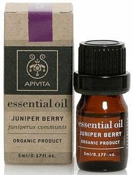 Huile essentielle de genévrier 100% naturelle - Apivita Aromatherapy Organic Juniper Oil — Photo N1
