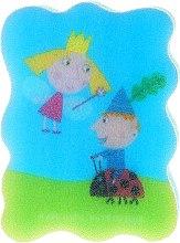 Parfums et Produits cosmétiques Éponge de bain pour enfants Le petit royaume de Ben et Holly, bleu - Suavipiel Ben & Holly
