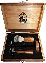Parfums et Produits cosmétiques Set de rasage - Man's Beard Barber Wood Set