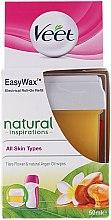 Parfums et Produits cosmétiques Cartouche de cire à épiler roll-on - Veet Easy Wax Natural Inspirations