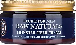 Parfums et Produits cosmétiques Crème coiffante au panthénol - Recipe For Men RAW Naturals Monster Fiber Cream