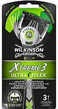 Parfums et Produits cosmétiques Rasoirs jetables - Wilkinson Sword Xtreme 3 UltraFlex
