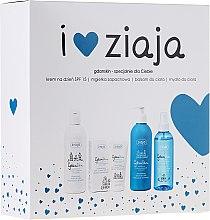 Parfums et Produits cosmétiques Set - Ziaja GdanSkin (crème/50ml + brume/200ml + baume corps/300ml + savon/300ml)