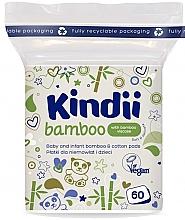 Parfums et Produits cosmétiques Tampons en coton - Kindii Bamboo Cotton Pads