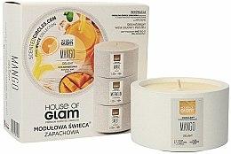 Parfums et Produits cosmétiques Bougie parfumée de soja et cire d'abeille - House of Glam Mango Delight Candle