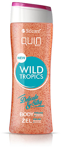 Gel douche exfoliant, Tropiques sauvages - Silcare Quin Peeling Wild Tropics