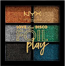 Parfums et Produits cosmétiques Palette de pigments pressés - NYX Professional Makeup Love Lust Disco Foil Play Pigment Palette