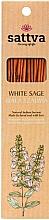 Parfums et Produits cosmétiques Bâtons d'encens Sauge blanche - Sattva White Sage