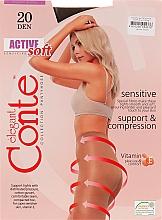 Parfums et Produits cosmétiques Collant pour femme, Active Soft, 20 Den, shade - Conte