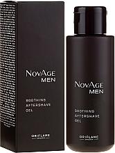 Parfums et Produits cosmétiques Gel après-rasage apaisant - Oriflame NovAge Men Soothing Aftershave Gel
