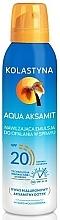 Parfums et Produits cosmétiques Émulsion solaire hydratante en spray à l'acide hyaluronique - Kolastyna Aqua Aksamit SPF 20