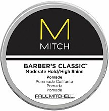 Parfums et Produits cosmétiques Pommade coiffante sans parabènes - Paul Mitchell Mitch Barber's Classic