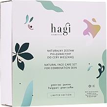 Parfums et Produits cosmétiques Hagi Natural Face Care Set - Coffret (crème pour visage/30ml + sérum pour visage/30ml)