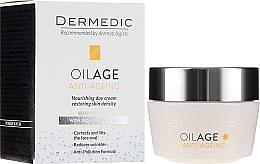 Parfums et Produits cosmétiques Crème de jour à l'huile d'avocat - Dermedic Oilage Tri Oleum