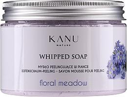 Parfums et Produits cosmétiques Savon mousse exfoliant Prairie fleurie - Kanu Nature Floral Meadow Peeling Soap