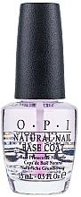 Parfums et Produits cosmétiques Base coat pour ongles naturels - O.P.I Natural Nail Base Coat