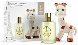 Parfums et Produits cosmétiques Parfums Sophie La Girafe - Set (eau de soin parfumée/100ml + jouet)