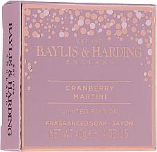Coffret cadeau - Baylis & Harding Cranberry Martini Collection Lip Set Cherry (soap/40g + lip/gloss/12ml + sh/cr/30ml) — Photo N3