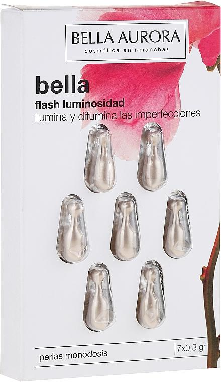 Capsules à l'extrait de plancton pour visage - Bella Aurora Flash Luminosity Facial Treatment