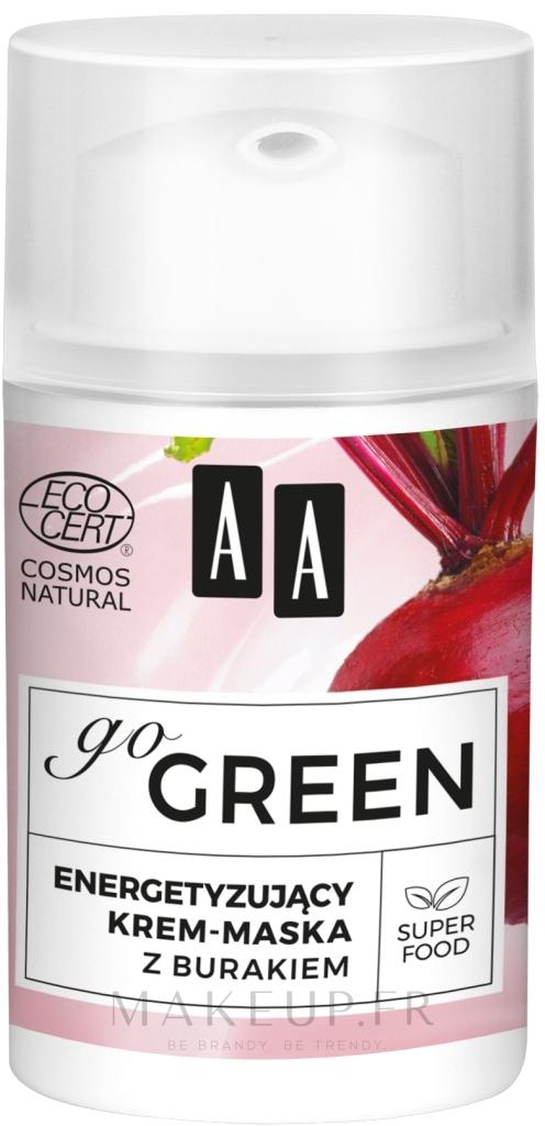 Crème-masque à l'extrait de betterave pour visage - AA Go Green — Photo 50 ml