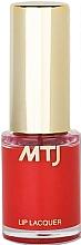 Parfums et Produits cosmétiques Laque à lèvres - MTJ Cosmetics Liquid Lip Lacquer Effect 6H