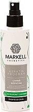 Parfums et Produits cosmétiques Spray régénérant à la kératine pour cheveux - Markell Cosmetics Keratin Program