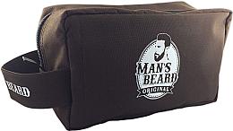 Parfums et Produits cosmétiques Trousse de voyage pour homme, en tissu, rectangulaire - Man's Beard Men's Toiletry Bag