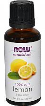 Parfums et Produits cosmétiques Huile essentielle de citron - Now Foods Essential Oils 100% Pure Lemon