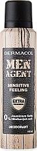 Parfums et Produits cosmétiques Déodorant pour peaux sensibles - Dermacol Men Agent Sensitive Feeling Deodorant