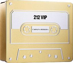 Parfums et Produits cosmétiques Carolina Herrera 212 VIP - Coffret (eau de parfum/50ml + lotion corps/75ml)