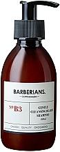 Parfums et Produits cosmétiques Shampooing à l'huile d'argousier pour barbe - Barberians. №B3 Cleansing Beard Shampoo