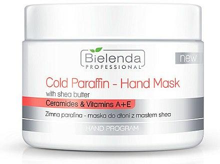 Masque paraffine froide au beurre de karité pour mains - Bielenda Professional Cold Paraffin Hand Mask With Shea Butter (400 g)