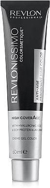 Gel-crème colorant permanent - Revlon Professional Revlonissimo NMT High Coverage — Photo N2