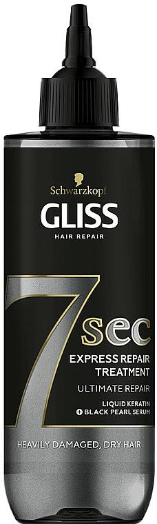 Traitement à la kératine liquide pour cheveux - Schwarzkopf Gliss Kur 7 Sec Express Repair Treatment Ultimate Repair
