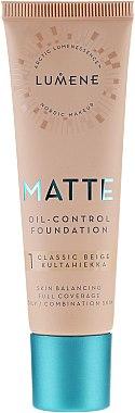 Fond de teint matifiant - Lumene Matte Oil-control Foundation