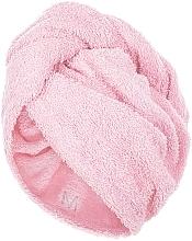 Parfums et Produits cosmétiques Serviette pour cheveux, rose poudré, 68x26cm - MakeUp