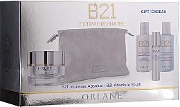 Parfums et Produits cosmétiques Orlane B21 Extraordinaire Absolute Youth Set - Coffret cadeau (crème/50 ml + lotion/50ml + nettoyant/50ml + sérum/7.5 ml + trousse de toilette)