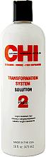Parfums et Produits cosmétiques Système de lissage permanent pour cheveux, Phase 2 Formule A (rouge) - CHI Transformation Bonder Formula A