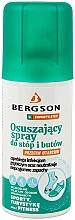 Parfums et Produits cosmétiques Spray à effet desséchant pour pieds et chaussures - Bergson Foot Spray