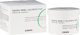 Parfums et Produits cosmétiques Disques apaisants à l'extrait d'herbe du tigre pour visage - Cosrx One Step Green Hero Calming Pad