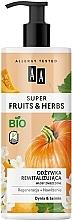Parfums et Produits cosmétiques Après-shampooing à l'extrait de citrouille - AA Super Fruits Herbs Conditioner