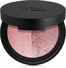 Parfums et Produits cosmétiques Blush cuit bicolore - Aden Cosmetics Blusher Duo