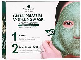 Parfums et Produits cosmétiques Masque peel-off à la bave d'escargot pour visage - Shangpree Green Premium Modeling Mask