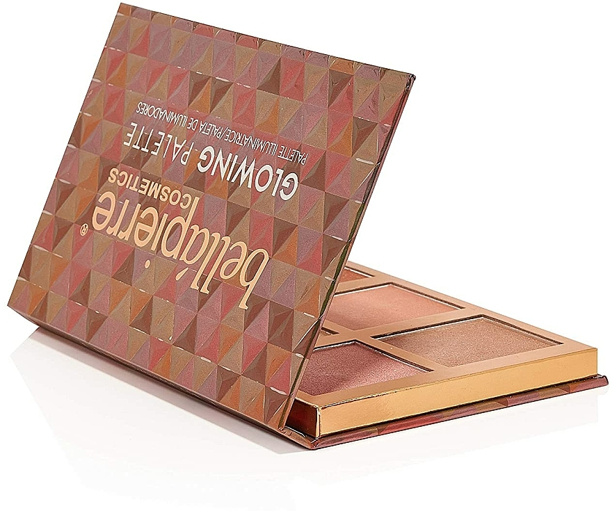 Palette de maquillage, effet éclat - Bellapierre Glowing Palette — Photo N3