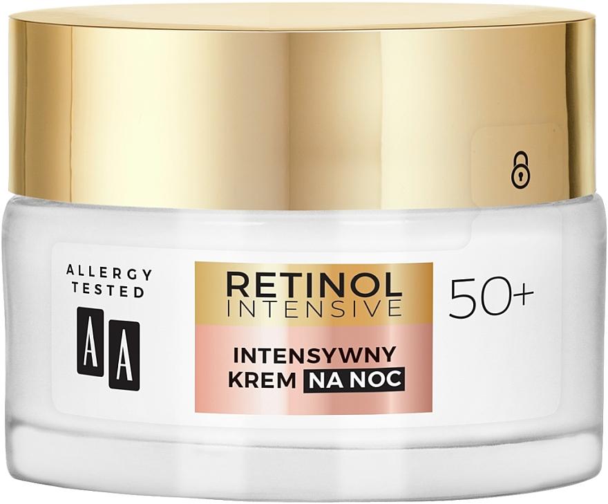 Crème de nuit au complexe de rétinol bio - AA Retinol Intensive Healthy Glow 50+ Night Cream — Photo N2