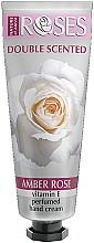 Parfums et Produits cosmétiques Crème à la vitamine E pour mains - Nature of Agiva Roses Amber Rose Perfumed Hand Cream