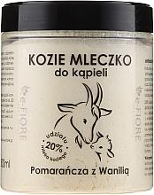 Parfums et Produits cosmétiques Lait de bain de chèvre Orange et vanille - E-Fiore Orange And Vanilla Bath Milk